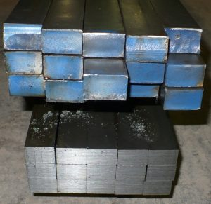Steel bars in a Bundle