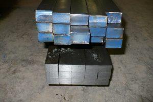 Two Bundles of Steel Drops